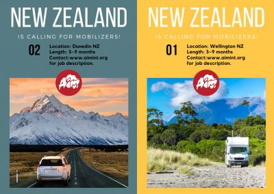 Mission Mobilizer – New Zealand, 3-9mos