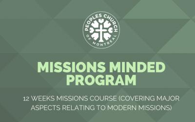 Missions-Minded Program